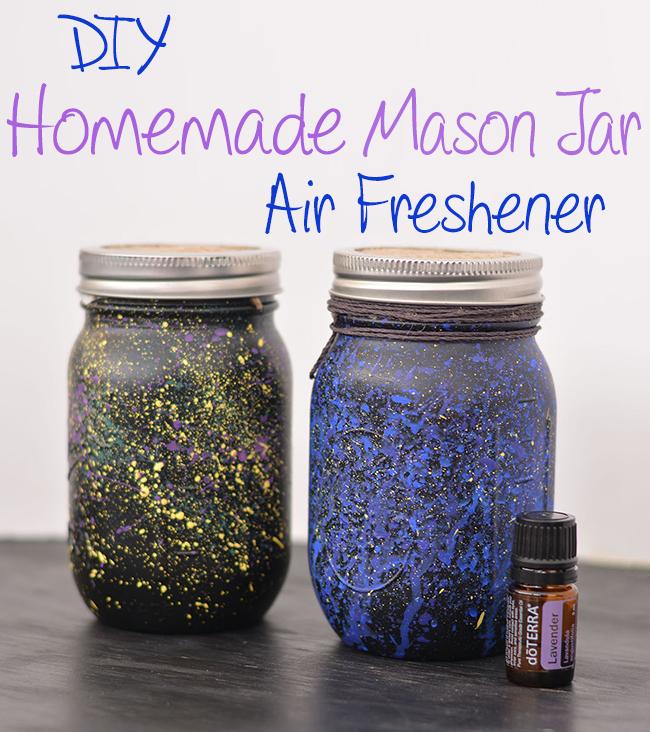 DIY Homemade Mason Jar Air Freshener Craft
