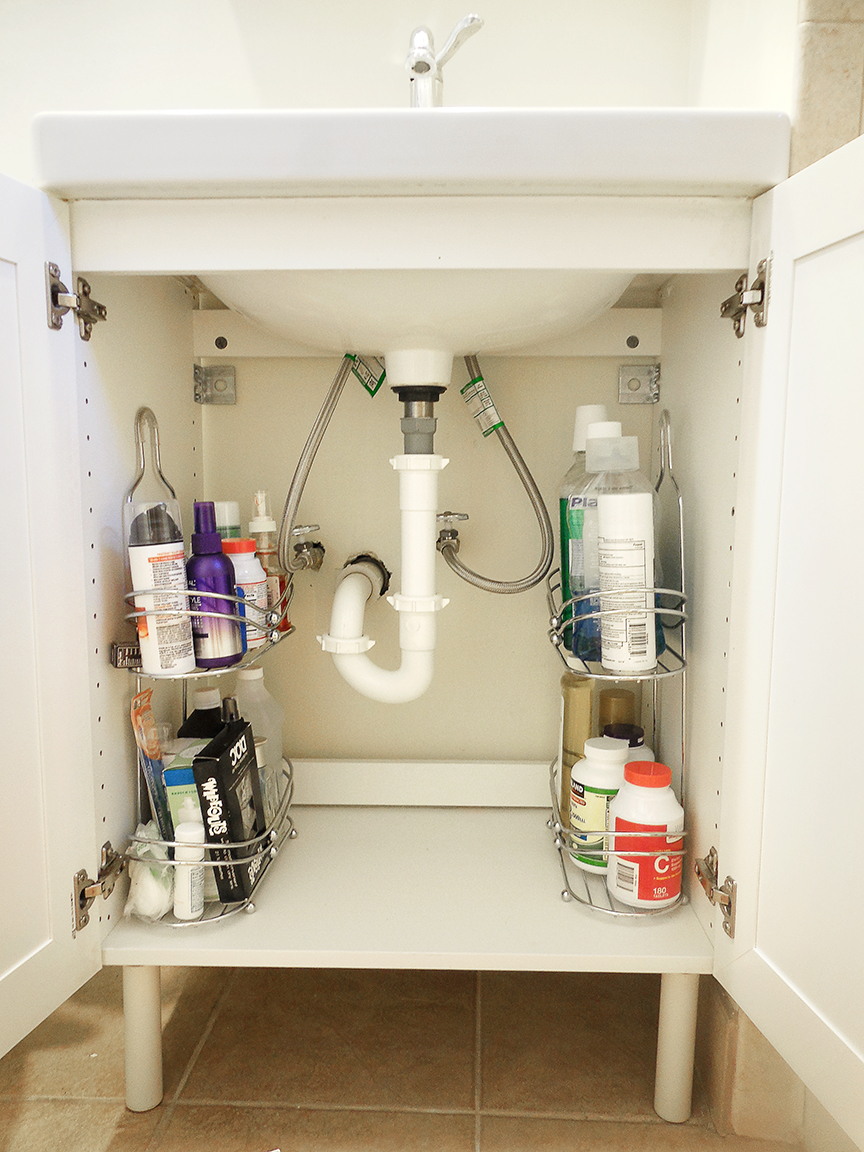Shelving Tiered Bathroom