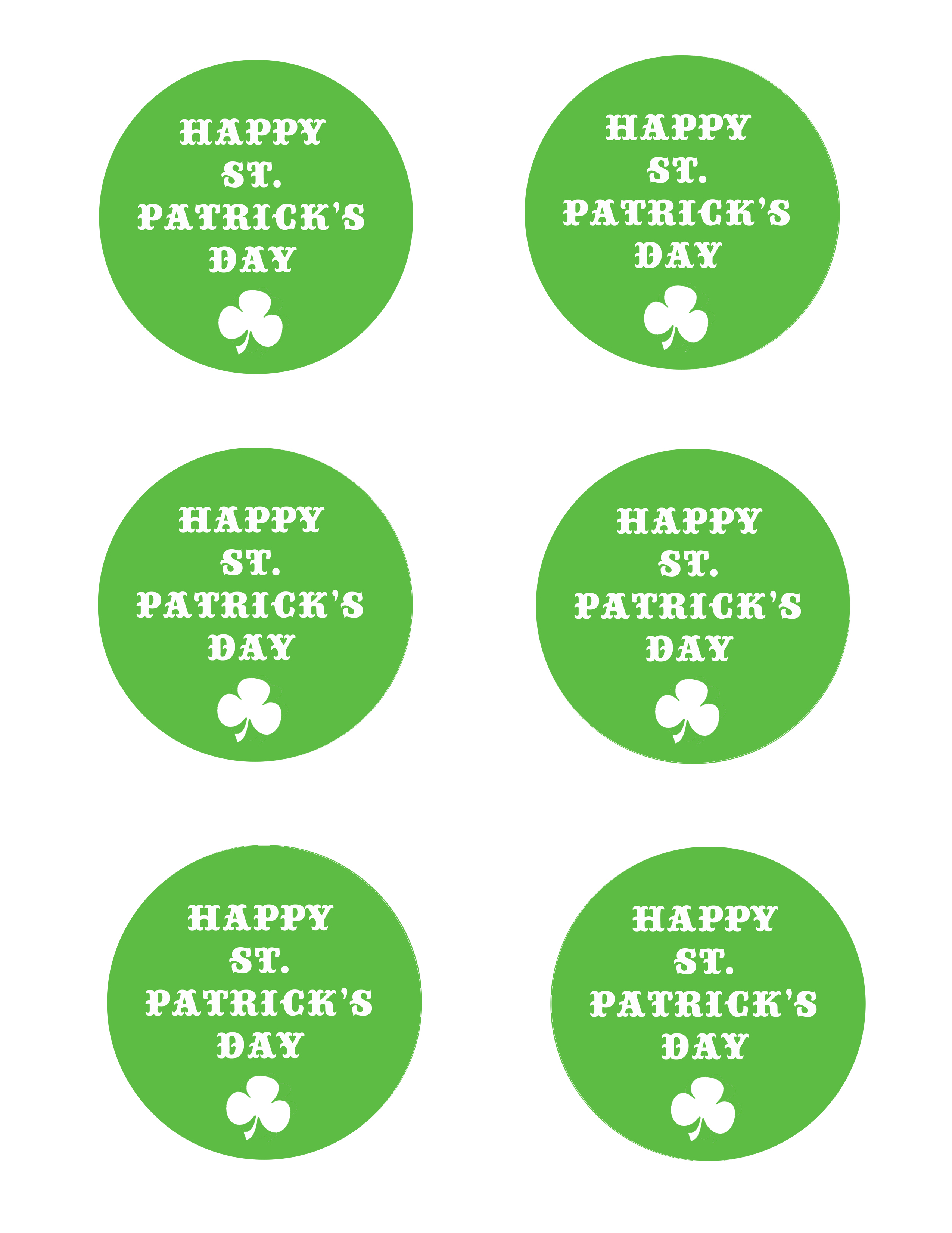 Leprechaun Treasure Details Free St Patrick S Day Tags