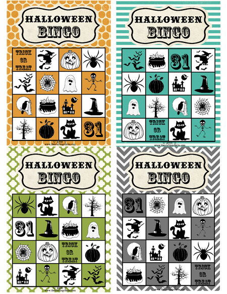 Bingo is an easy game for kids to play and very inexpensive to coordinate. Thanks to free printables, you can find festive bingo boards featuring pumpkins, witches, black cats and more for the cost of printing it at home. Check out this roundup of top free printable resources from InkjetWilly.com and stock up on cheap printer ink while you're there.