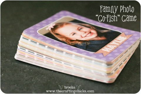 family photo go-fish game