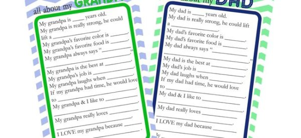 Mother's & Father's Day Printables Archives - Page 6 of 6 ...