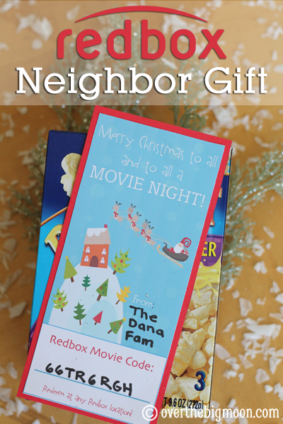 Redbox Neighbor GiftBloggers Best 12 Days Of Christmas
