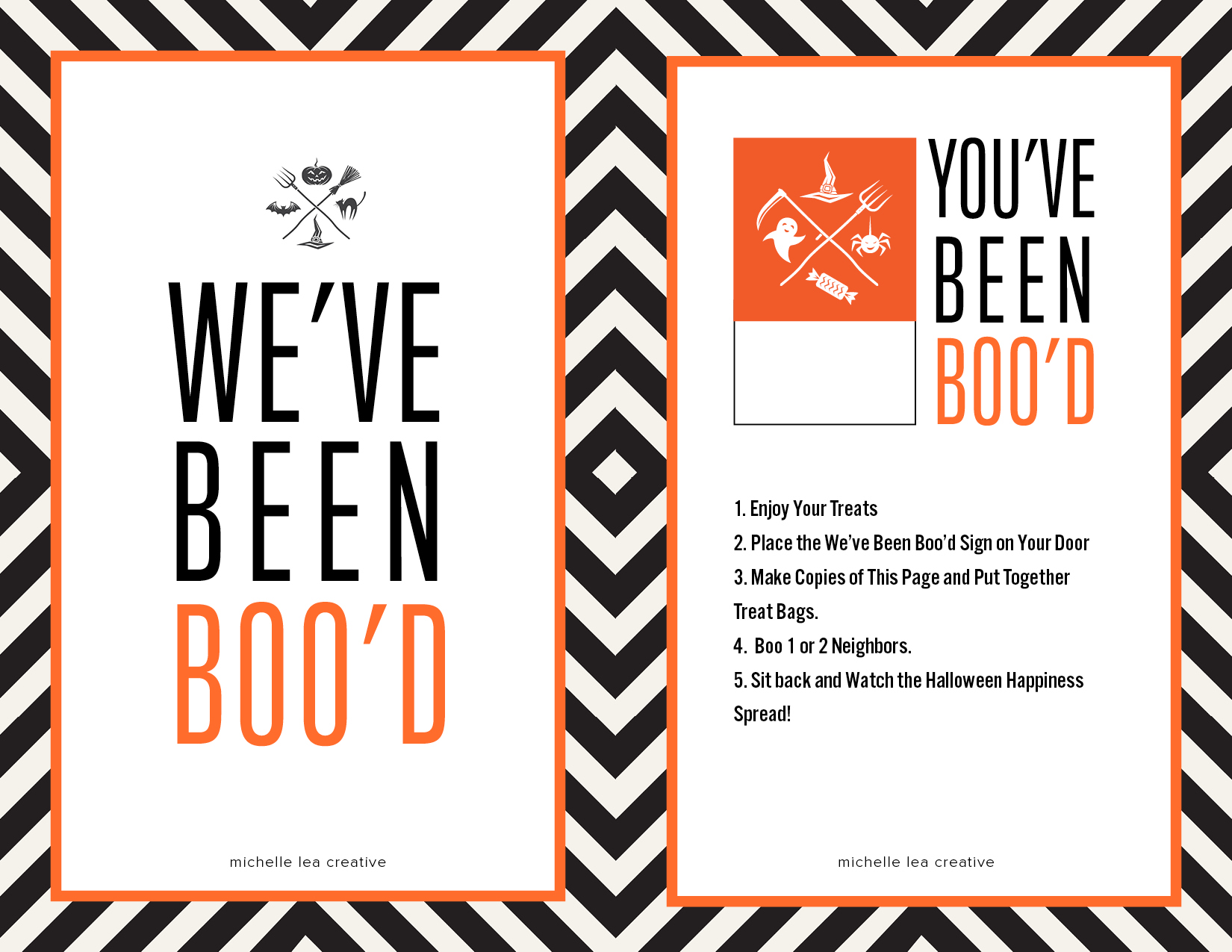You Ve Been Boo D Halloween Kit