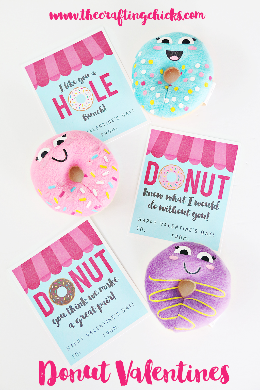 Donut Valentine Printables