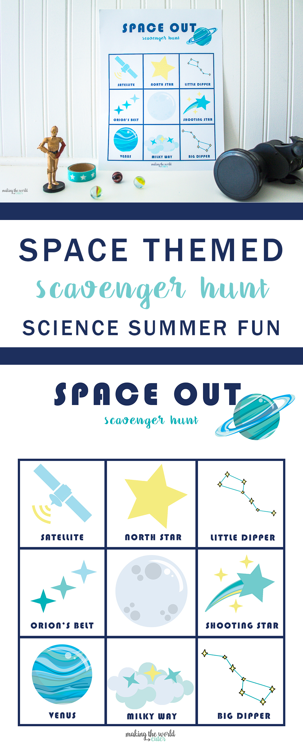 Space Scavenger Hunt