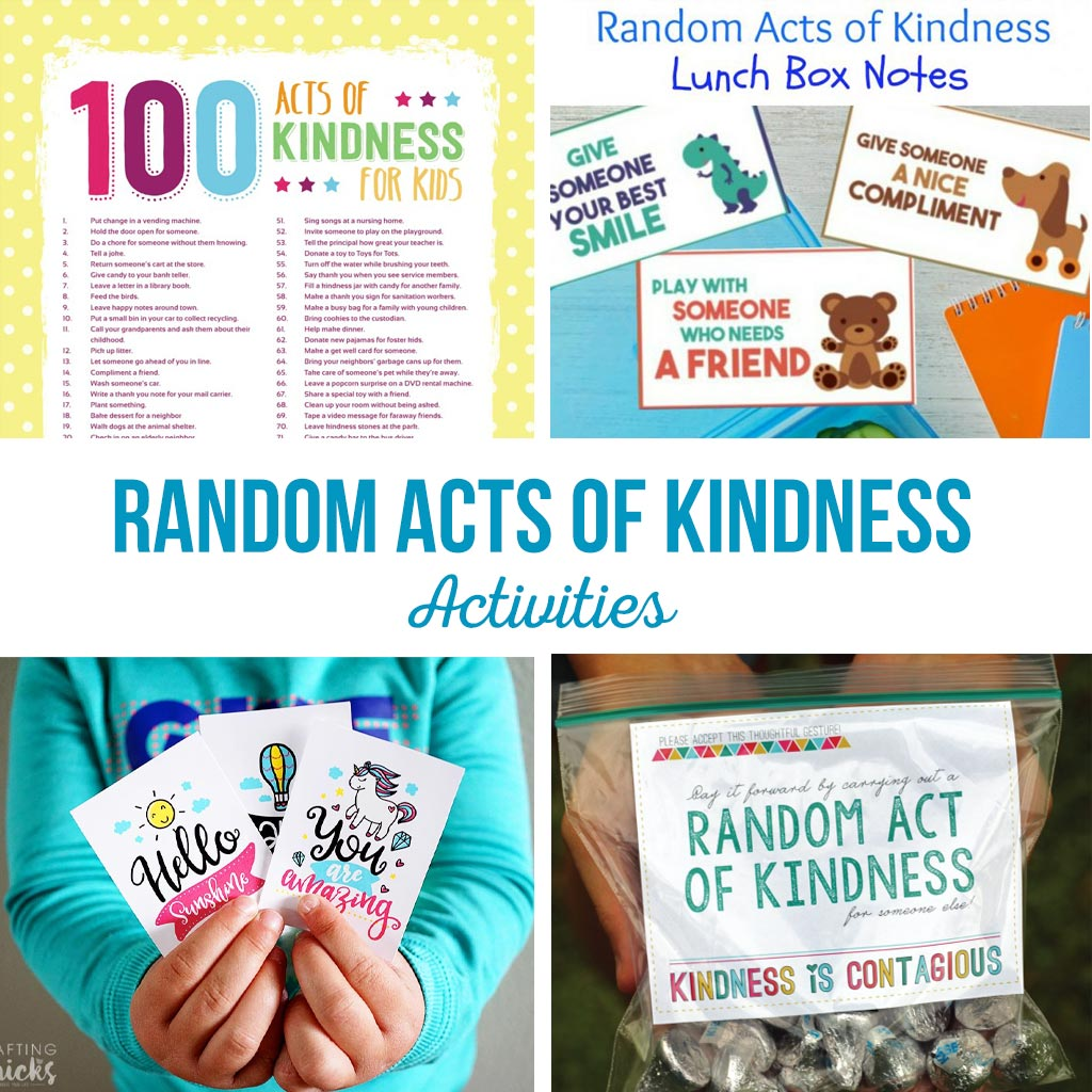 Random Acts Of Kindness Activities