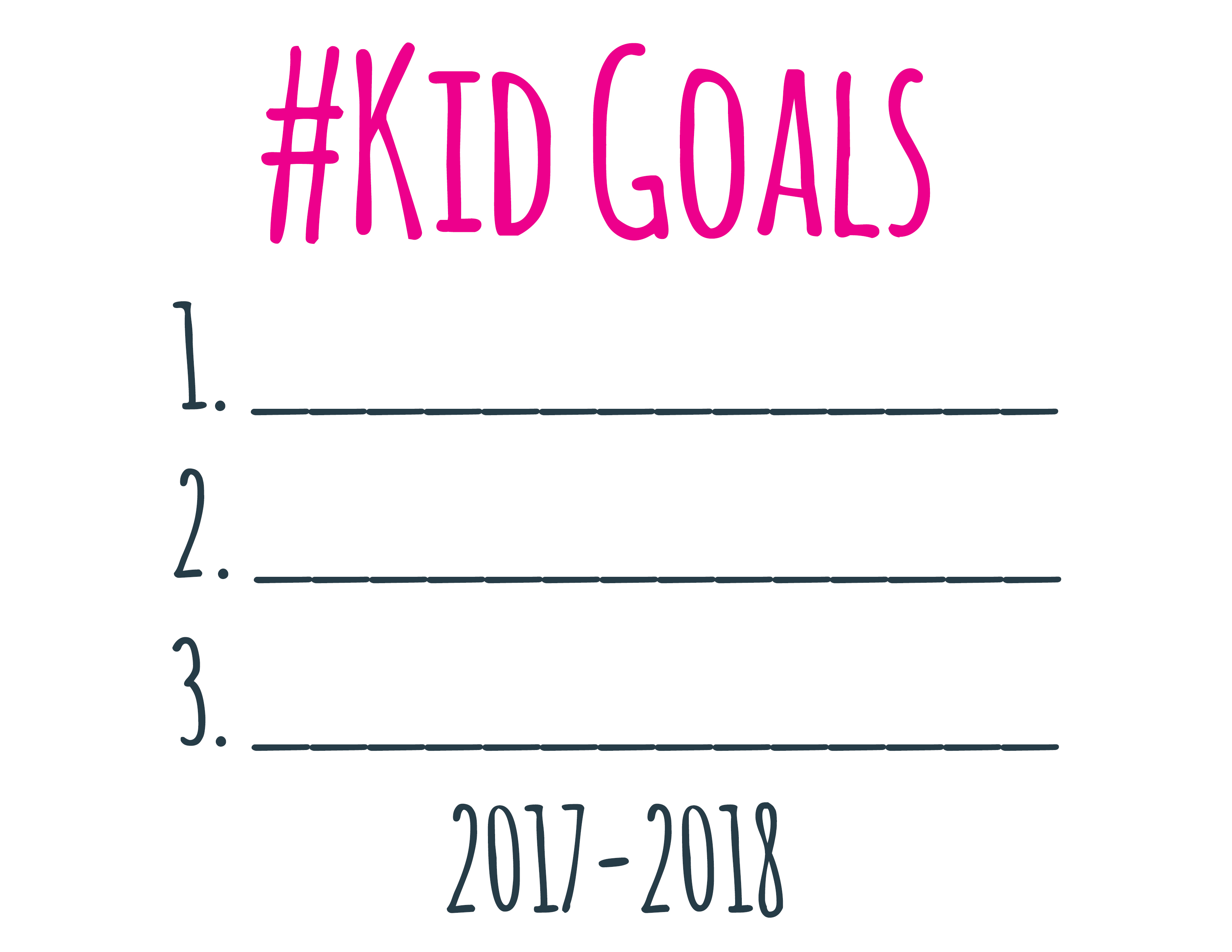 Back To School Kid Goals