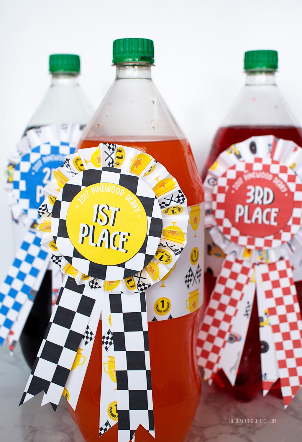 Pinewood Derby Printable Treat Wrappers