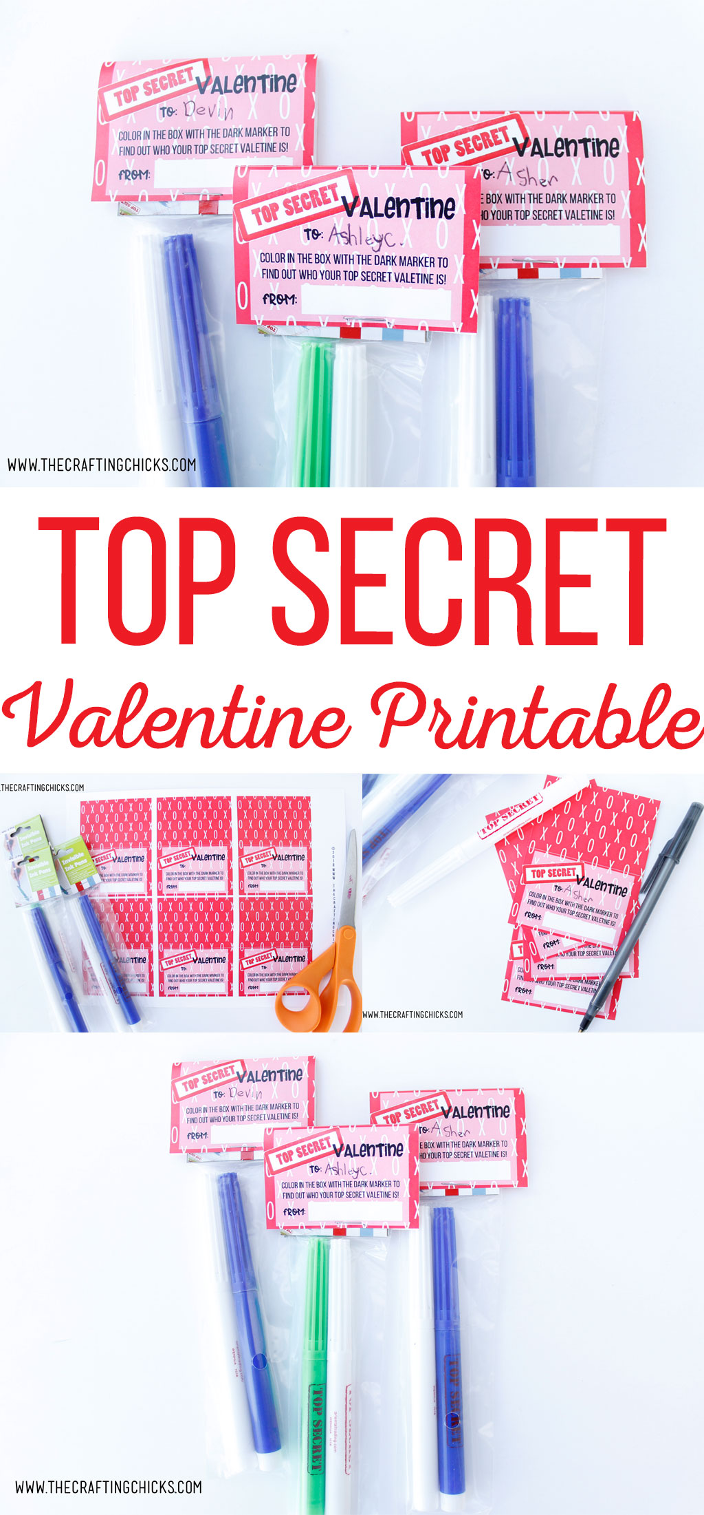 Top Secret Valentine Printable