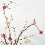Diy Home Decor Paper Flowers Blossom Branches The Crafting Nook