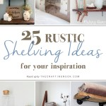 25 Diy Rustic Shelving Ideas To Try Now The Crafting Nook