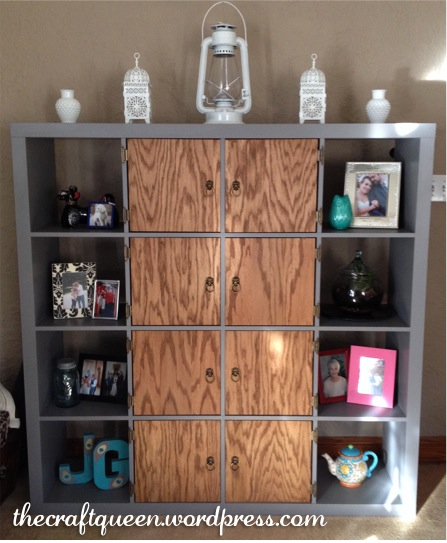 42. Before and After: IKEA Expedit Hack (2/6)