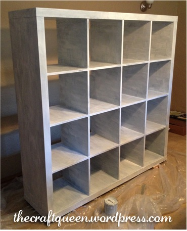 42. Before and After: IKEA Expedit Hack (4/6)