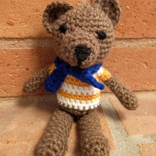 crochet small teddy bear