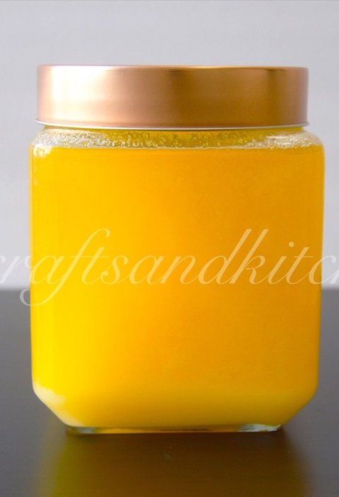 Homemade Ghee