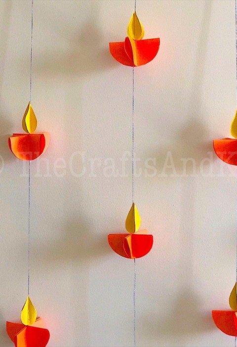 Diwali Paper Diya