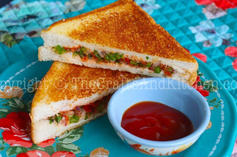 Tasty 10 minute Sandwich | Super quick sandwich recipe