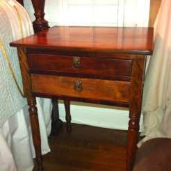 After Refinished Table