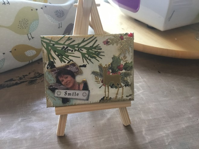 Your finished crafty inspirational project!