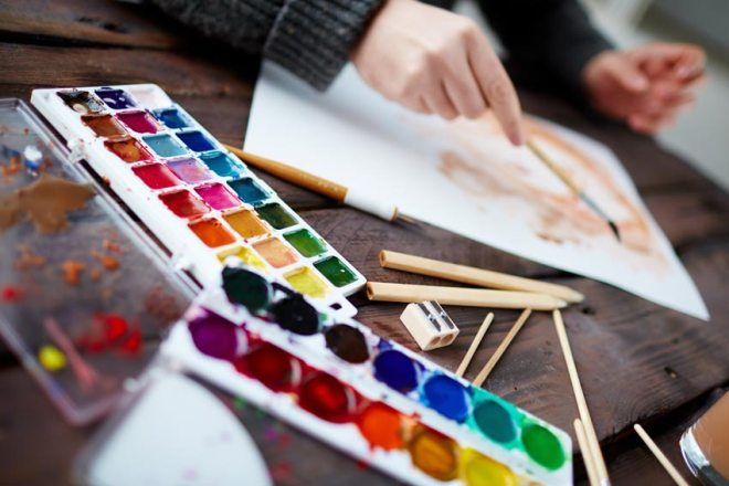 Watercolour painting tips
