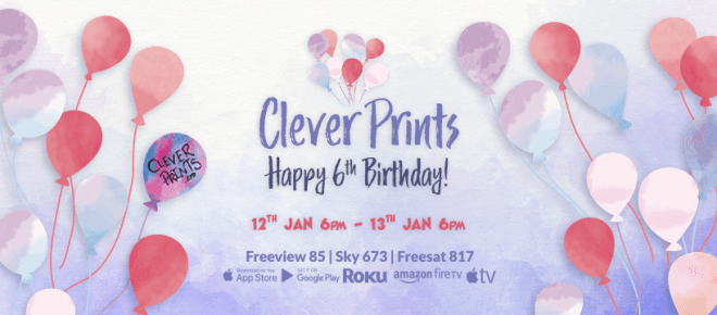 Clever Print 6th Birthday