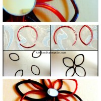 Bangle Craft Wall Hanging Tutorial #7