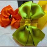 DIY Ribbon bows tutorial #9