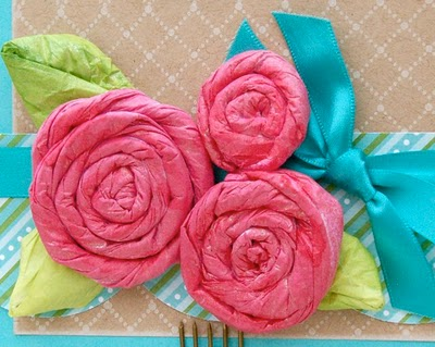 How To Make Tissue Paper Rose Flowers 8 The Crafty Angels