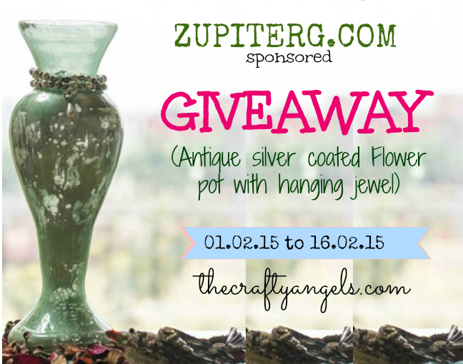 Zupiterg online home decor store  Giveaway