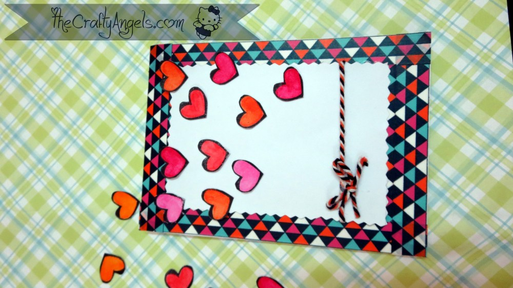 Confetti Hearts card tutorial (6)