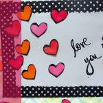 Confetti Hearts Card Tutorial