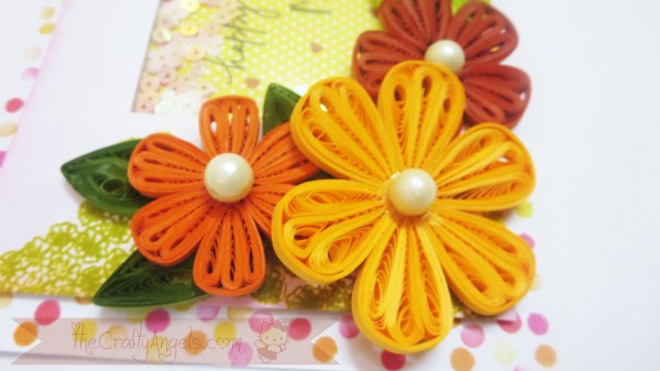Tight quilled flower shaker card tutorial (17)