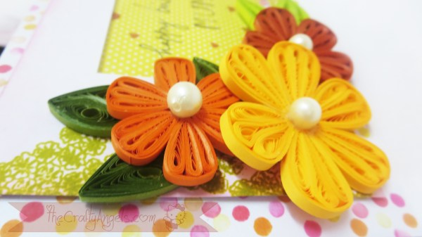 Tight quilled flower shaker card tutorial (21)