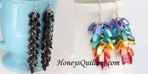 quilling tutorial mistletoe earrings quilled tutorial