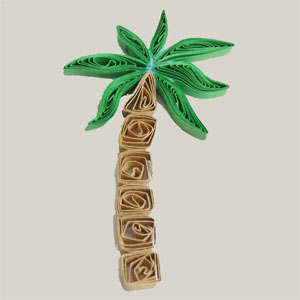 quilling tutorial quilled palm tree