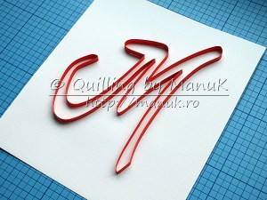 Quilling tutorial : Quillography