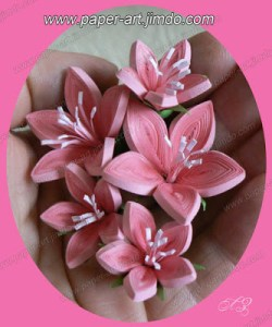 quilling tutorial : simple five tapered tight petal quilled flower tutorial