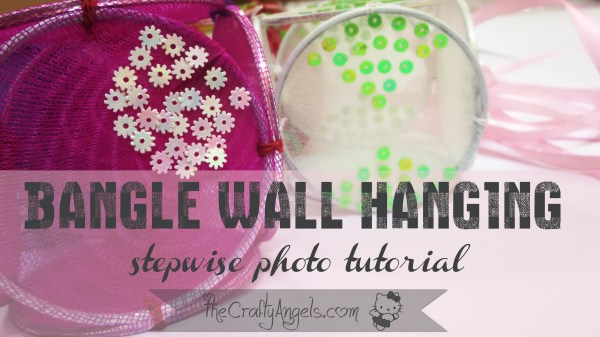 bangle wall hanging stepwise photo tutorial (18)