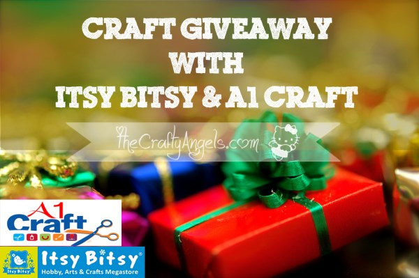 Craft Giveaway with Itsybitsy and A1 Craft