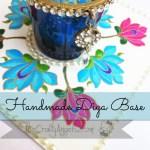 Handmade Diya Base : Altenew persian motif