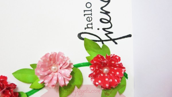 Handmade flower with washi tape tutorial
