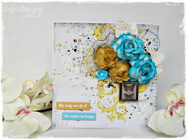 Mixed media card, cardmakingi n india, handmade card india, mixed media craft