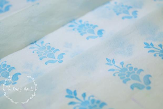 make decoupage napkin, decoupage technique, india decoupage, indian decor, home decor, DIY craft