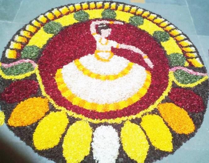 Easy-and-simple-ways-to-put-onam-pookkalam-designs-for-home-and-pookkalam-competions-along-with-latest-pookkalam-designs, onam, onam pookkalam, pookkalam designs, indian festivals, kerala festival, indian art, rangoli design, making pookkalam, mahabali, vamanan, onam celebration, onam craft, onam diy, onam decoration