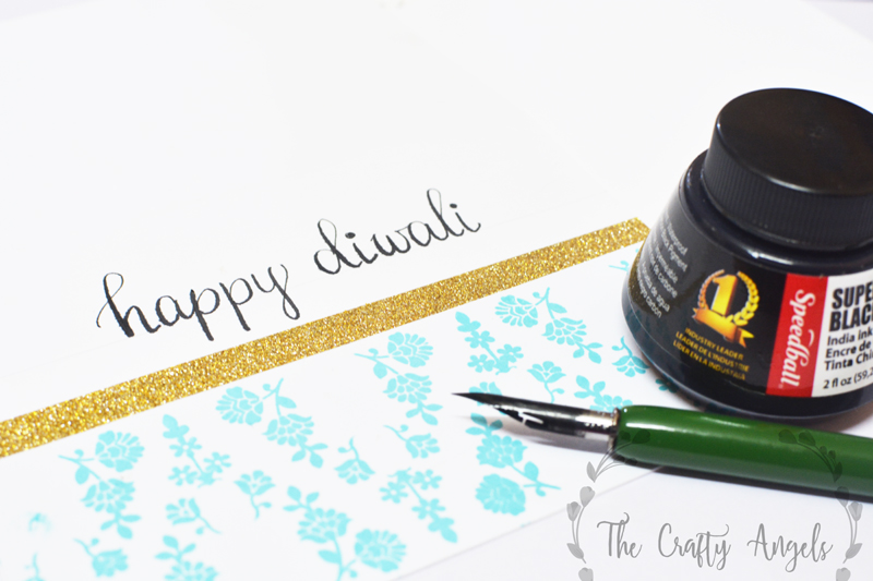 diwali card, diwali handmade card, handmade card, happy diwali, fiwali greetings, diwali decor