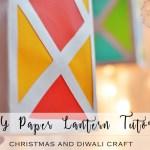 Colorful Paper Lantern Tutorial