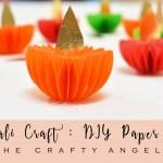 Diwali Craft – Paper Diya Tutorial