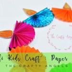 Diwali craft for kids : Paper Diya