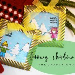 Snowy Shadow Box for Chistmas